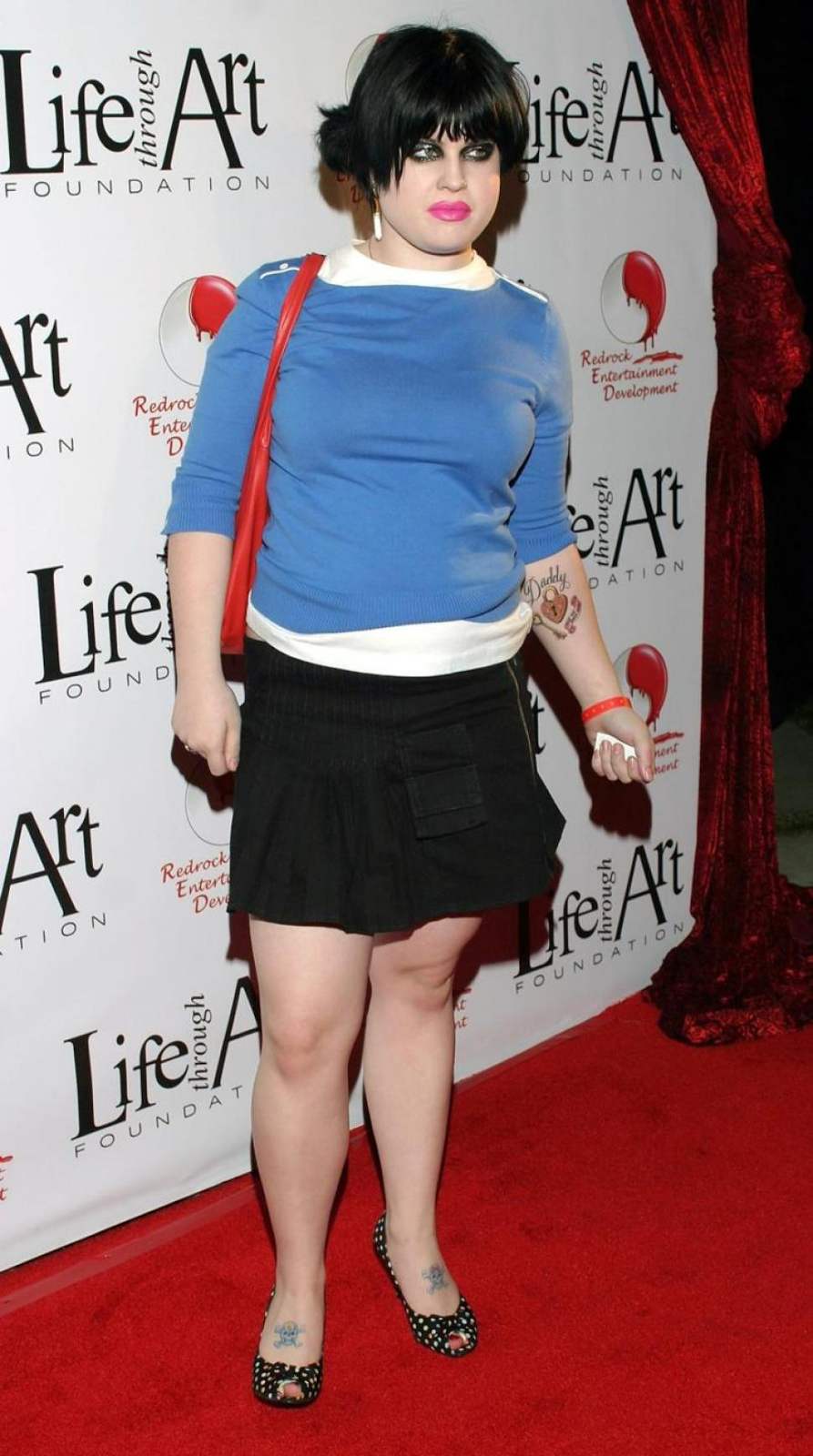 Kelly Osbourne has lost weight because of drugs 10/20/2009 73