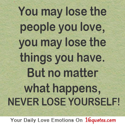 Quotes about losing someone