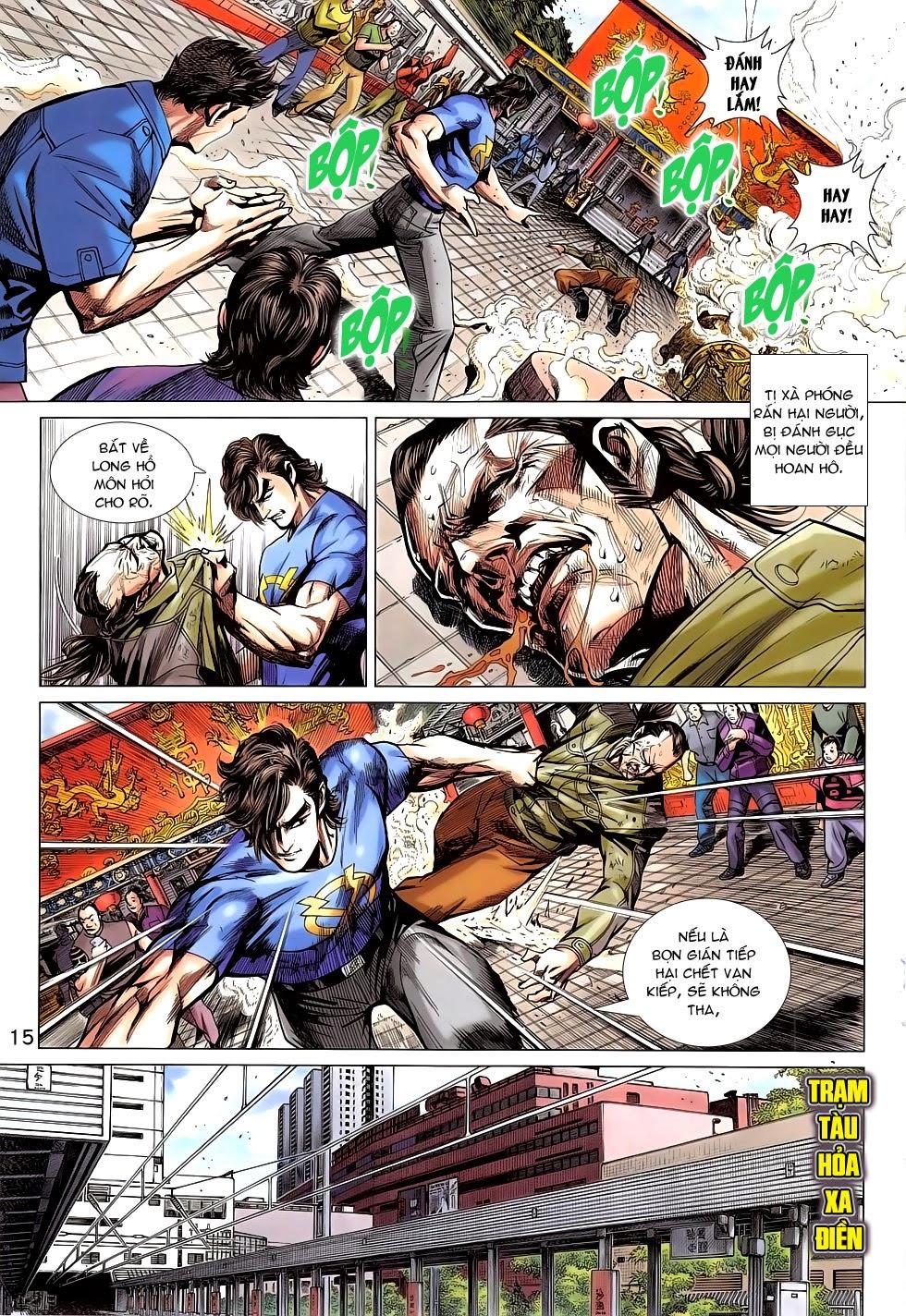 Tân Tác Long Hổ Môn chap 781 Trang 15 - Mangak.info