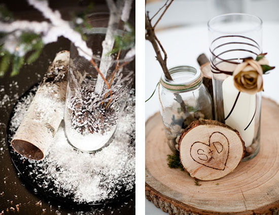 Lq Designs Rustic Winter Wedding Ideas My Wedding Reception