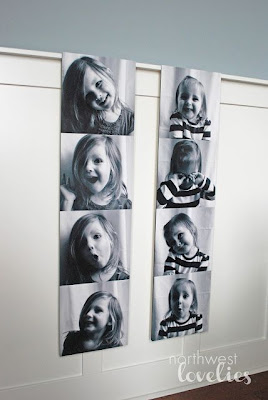 DIY Big Photo Strips