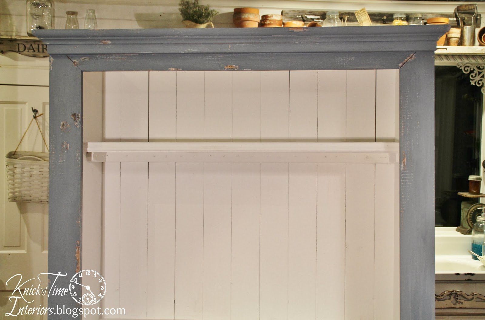 DIY Cupboard Cabinet via Knick of Time
