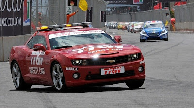 Chevrolet Camaro tours overseas as new safety car for World Touring Car Championship