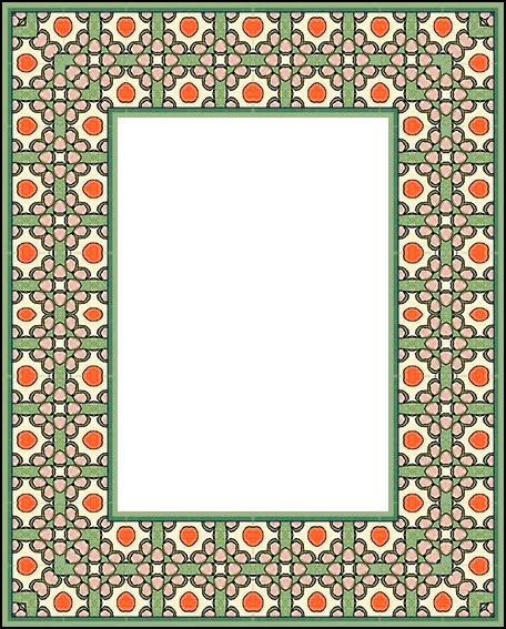 Artbyjean paper crafts olive green and orange set of - Does orange and green match ...