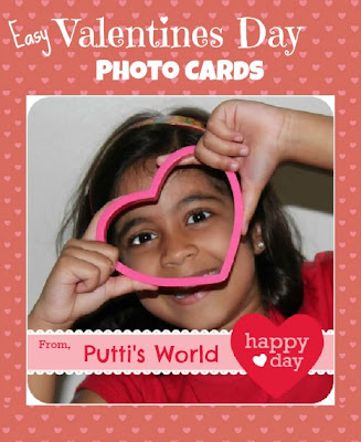 Easy Valentines Day Photo Cards