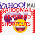 Yahoomail shortcuts- a list of all 46 shortcuts
