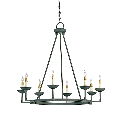 Rustic wrought iron chandeliers chandelier online - Can light chandelier ...