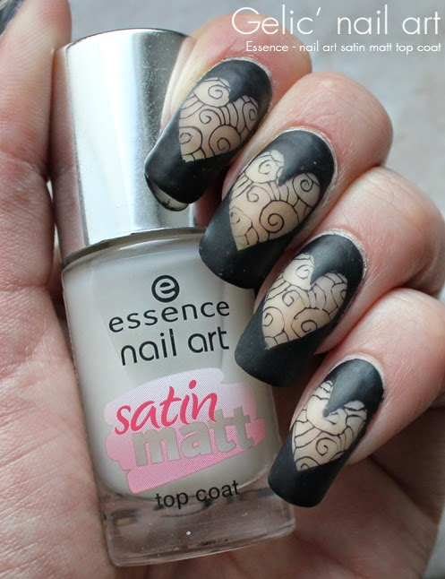 Gelic\' nail art: Negative space heart nail art with Essence nail art ...