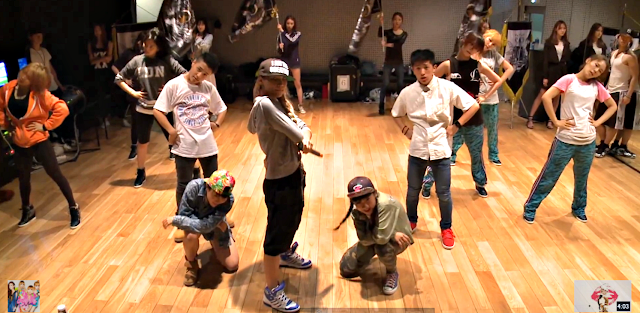 cl the baddest female dance practice 2
