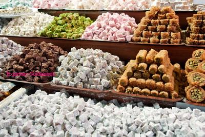Makanan Turki turkish delight