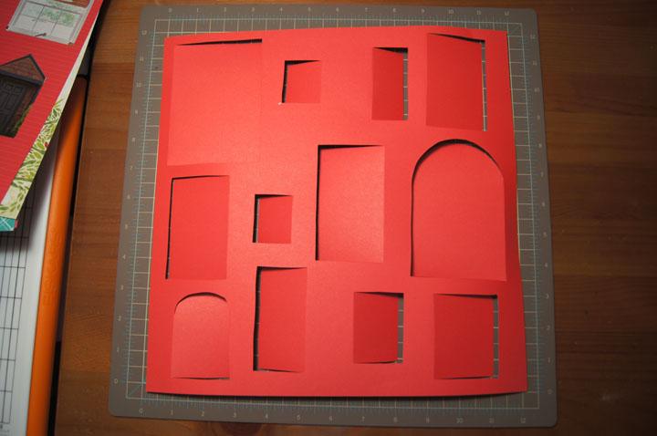 Monday November 28 2011 & Popper and Mimi: DIY: Paper Door Advent Calendar Tutorial pezcame.com