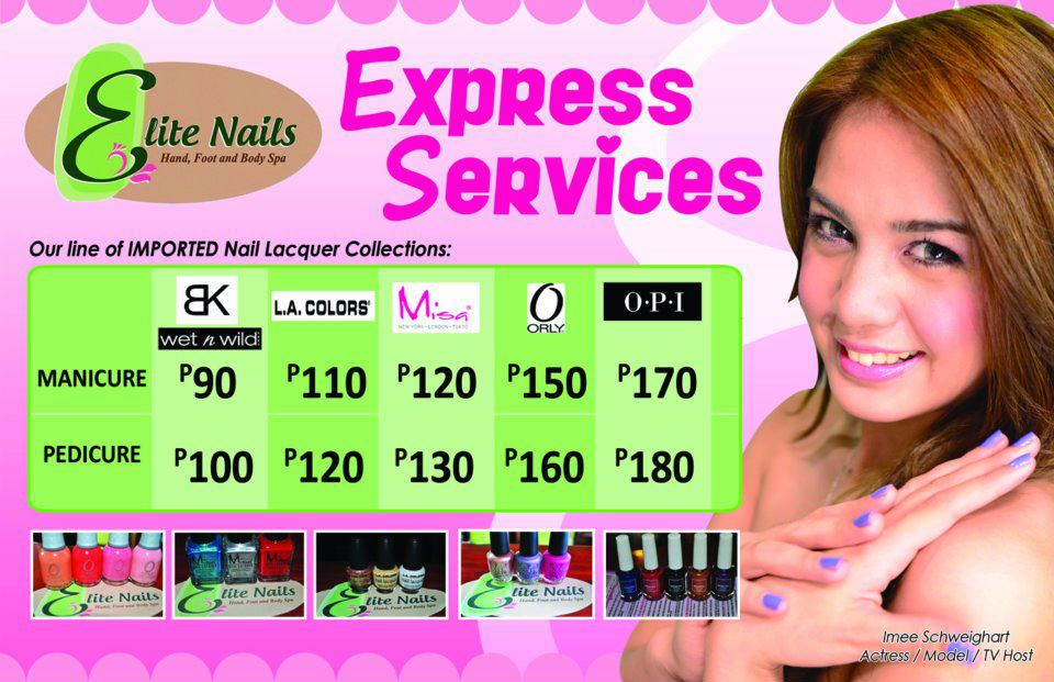 Elite Nails Hand, Foot and Body Spa: March 2012