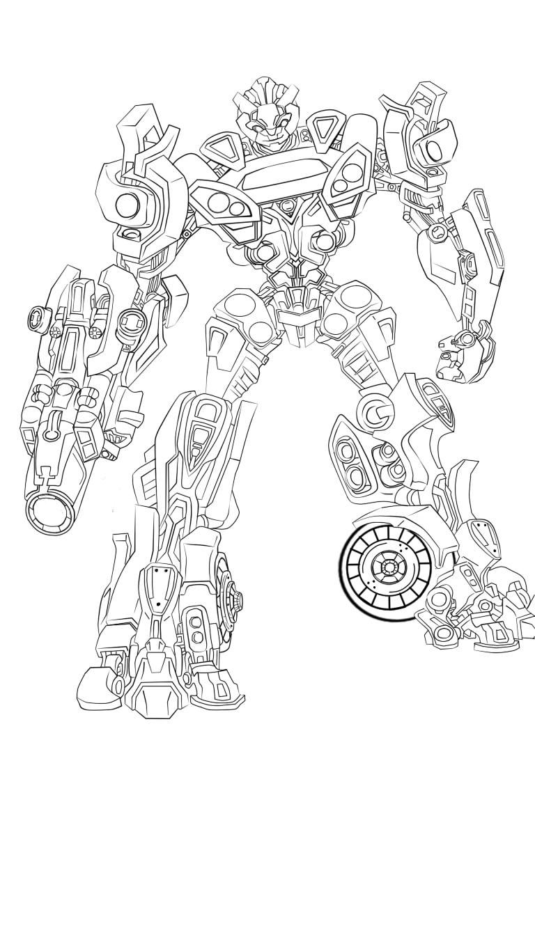Transformer Line Art My Scratchbox