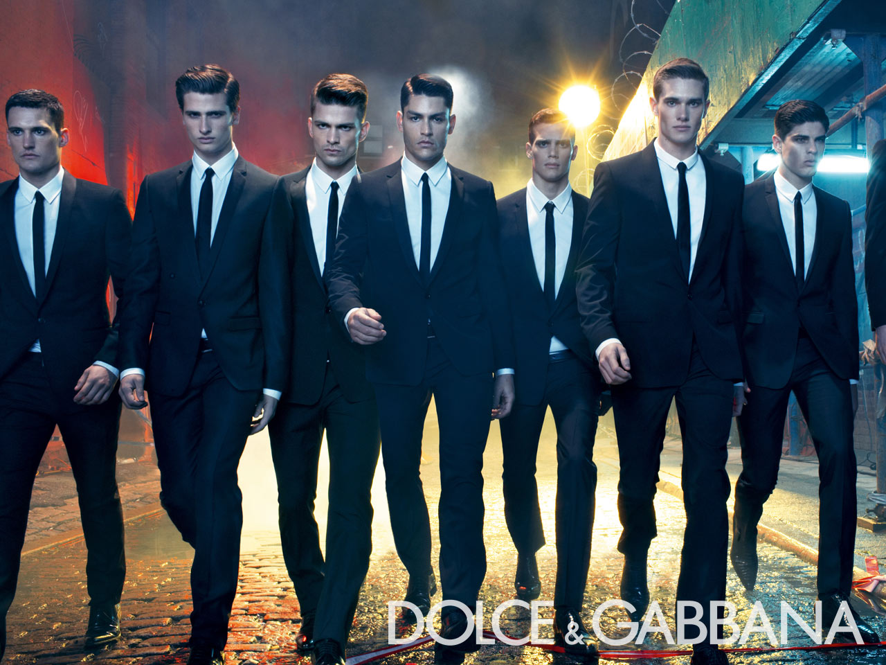 Dolce and Gabbana Male Models