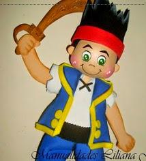 http://www.patronesfofuchas.org/2014/10/molde-fofucha-pirata-jake.html