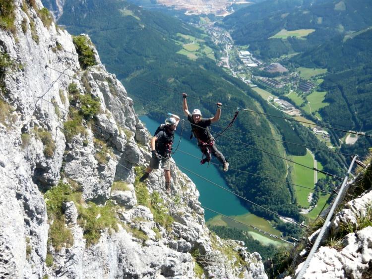 Klettersteig Rakousko : Nejlepší ferraty: kaiser franz joseph klettersteig obtížnost d