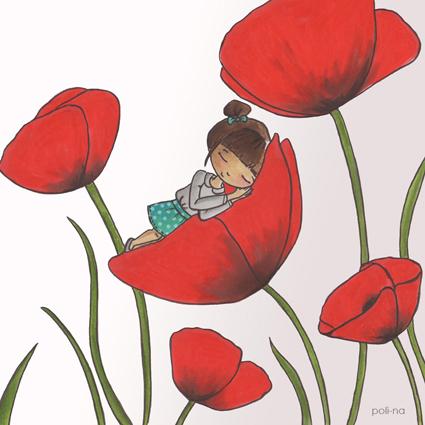 Poli na blog d 39 une styliste graphiste et illustratrice jeunesse illustration pour le - J ai bien dormi ...