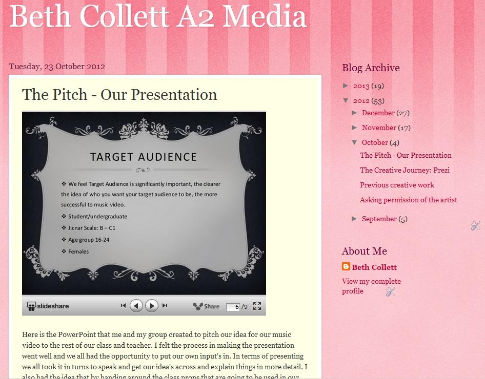 media studies evaluation coursework