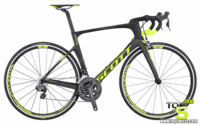 Scott FOIL 10, espectacular bici