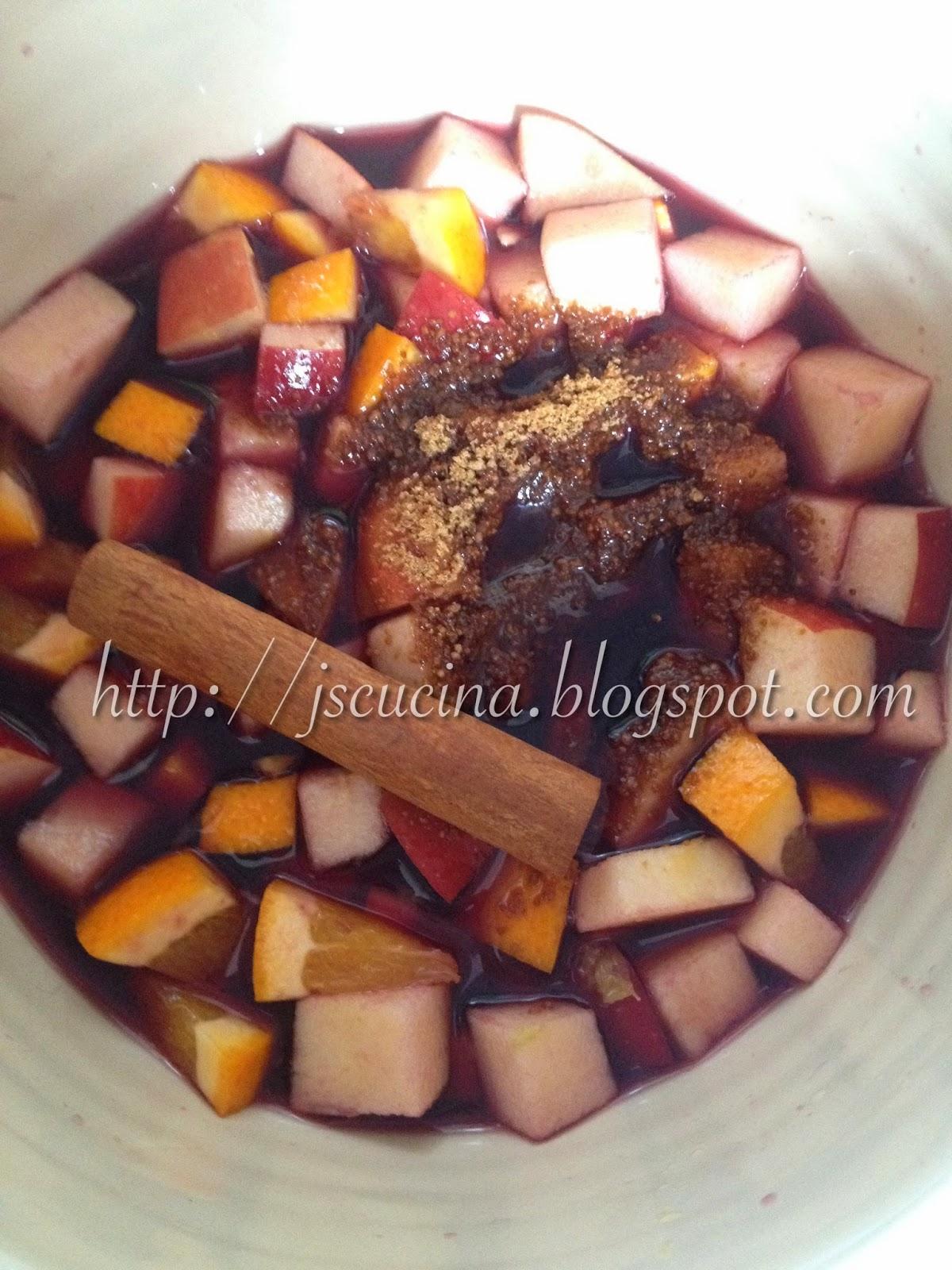 La cucina del cuore sangria - La cucina del cuore ...