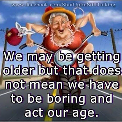 Ageing is not the same as getting old