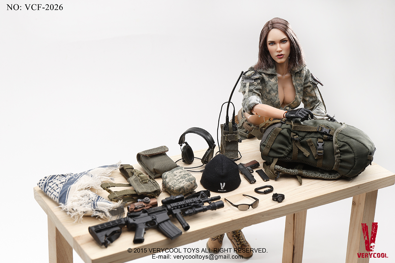 Really Really Cool Toys : Toyhaven verycool vcf th scale acu camo female