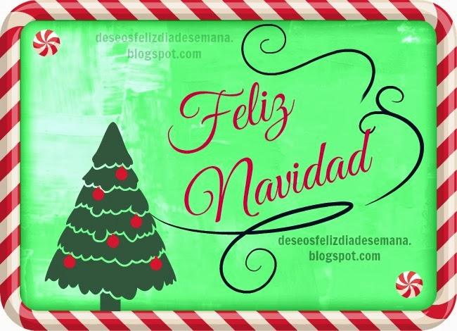 Tarjeta Postal Feliz Navidad. Imágenes lindas de Feliz navidad, saludo cristiano para amigos, familia, facebook, twitter, buenos deseos de Navidad y año nuevo. Postales cristianas con mensajes cristianos de navidad.