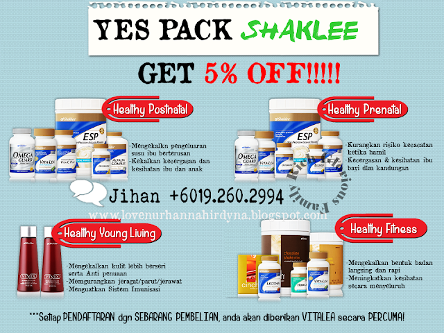 set yes pack shaklee