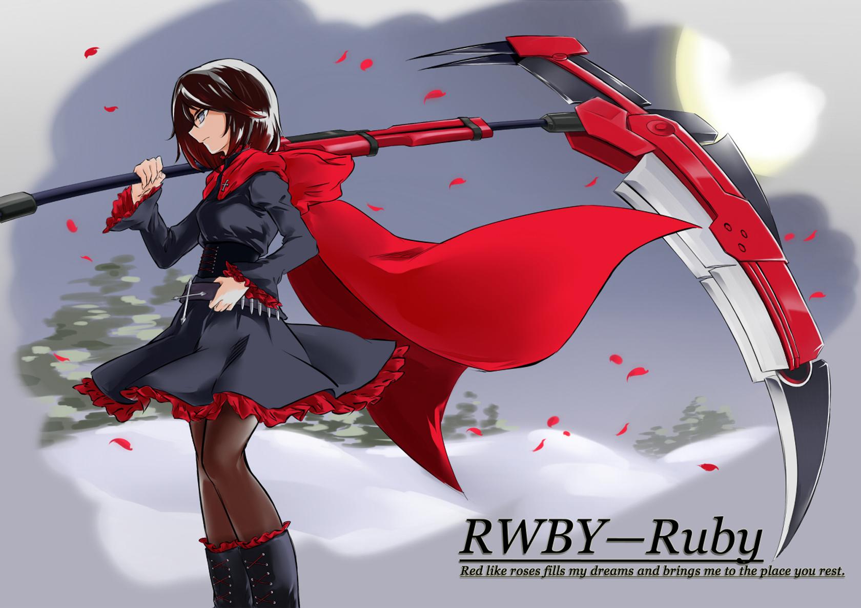 rwby anime scythe wallpaper - photo #26