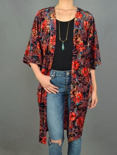 Trend Alert! Kimono Style