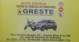 AUTO ESCOLA AGRESTE - (84) 3281 2175
