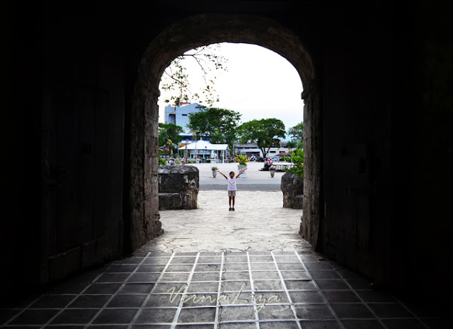 The entrance, exit of Fort San Pedro in Cebu City.