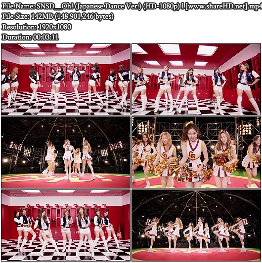 Download PV SNSD (Girls' Generation / 소녀시대) - Oh! (Japanese Dance Ver.) (Full HD 1080p)