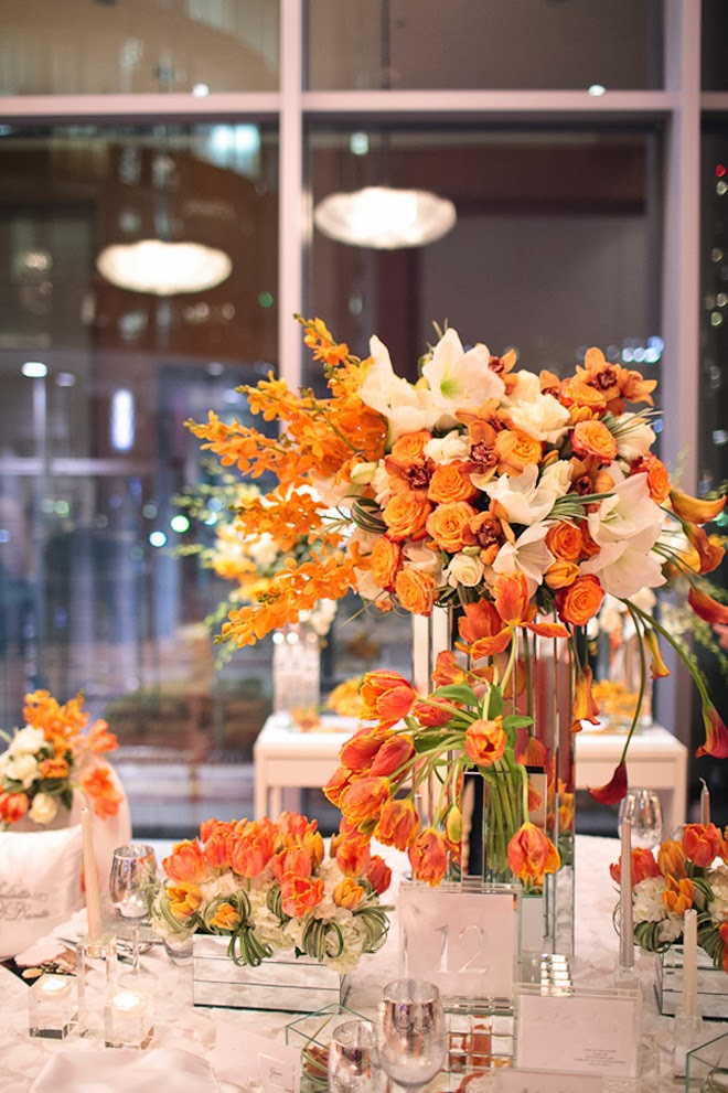 Fabulous centerpieces for fall weddings belle the