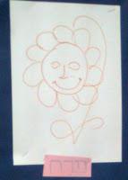 Рисунок семьи в виде цветка
