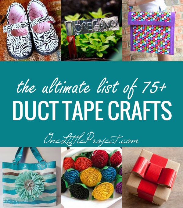The Ultimate List of Duct Tape Crafts, 75+ Clever Ideas