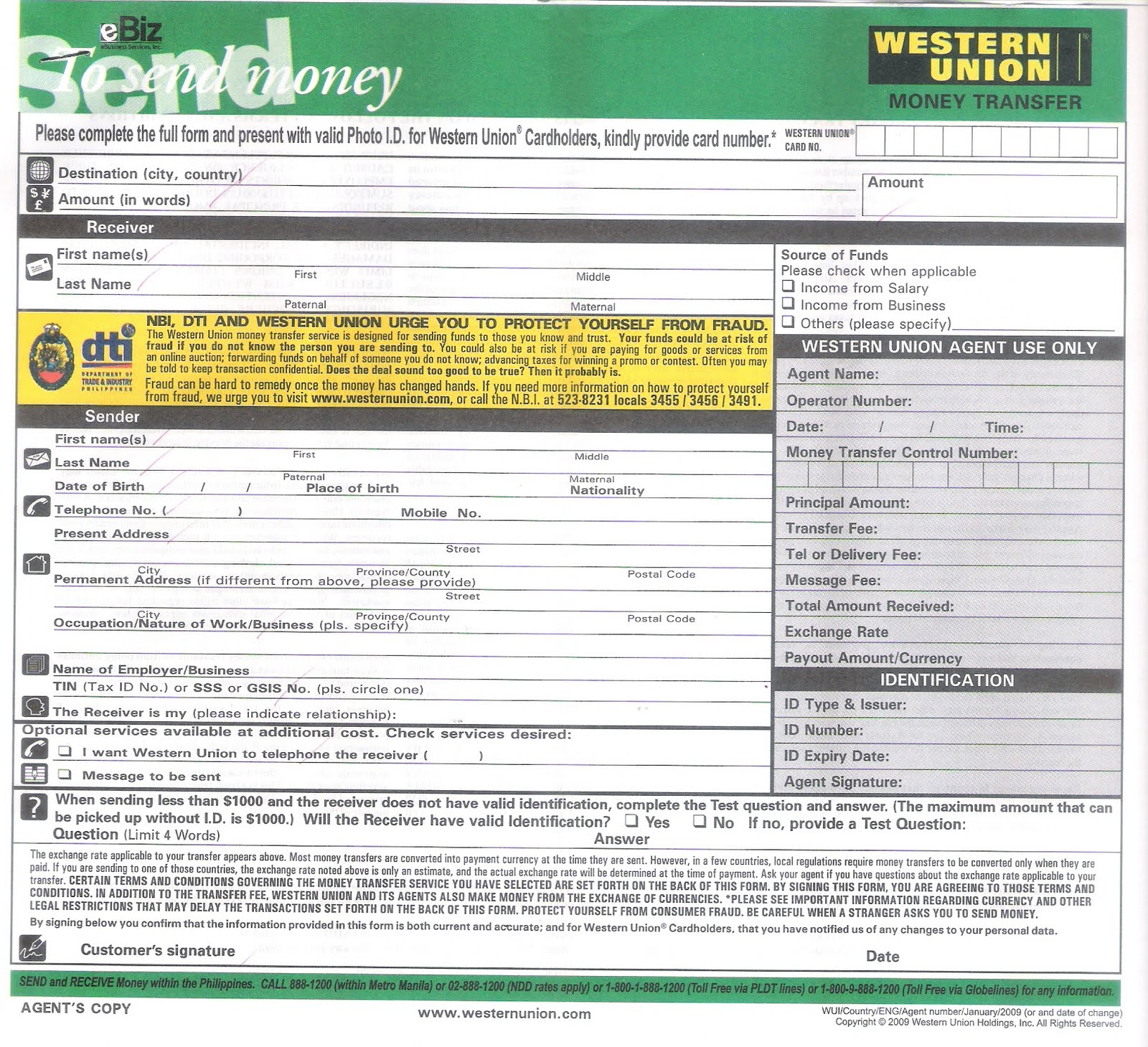 Searchitfast - Image - how to send western union