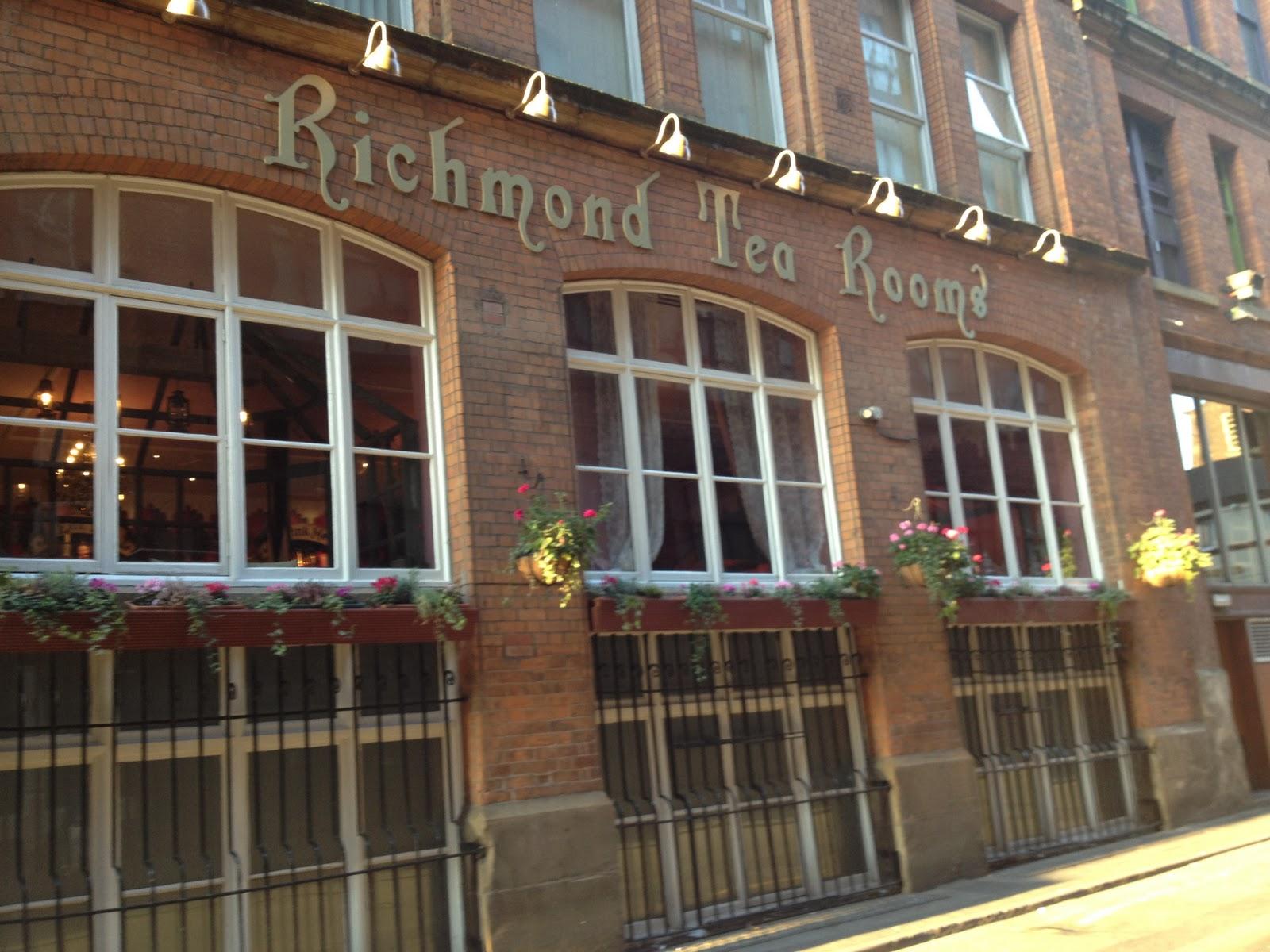 Richmond Tea Rooms Manchester Voucher