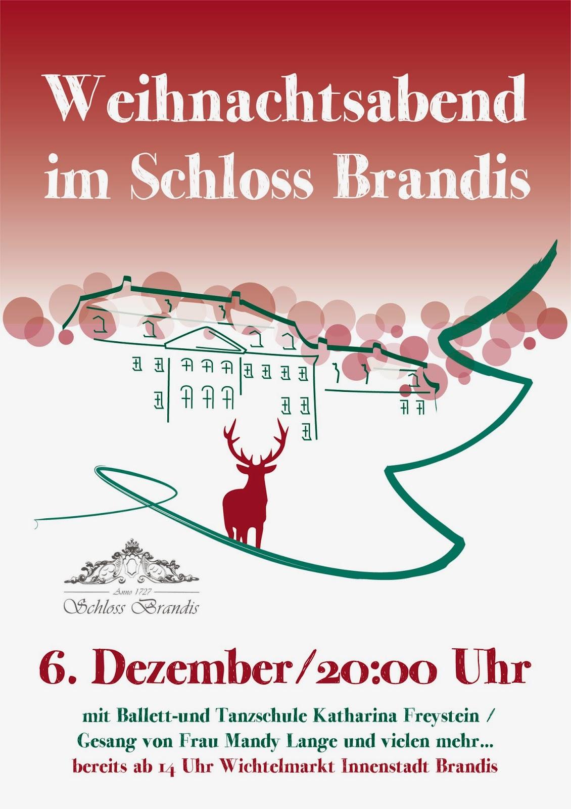 Weihnachtsabend im Schloss Brandis