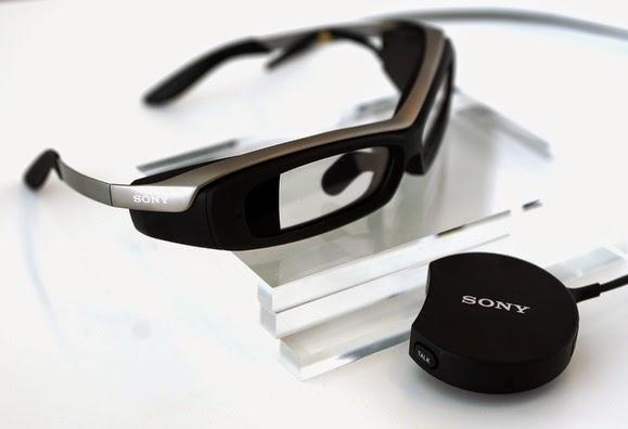 Τα Smart γυαλιά δεδομένων της Sony