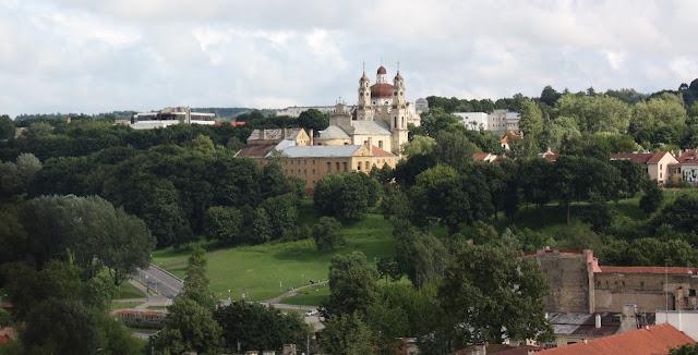 Vilnius, Vilna, Lituania, Pedro y Pablo