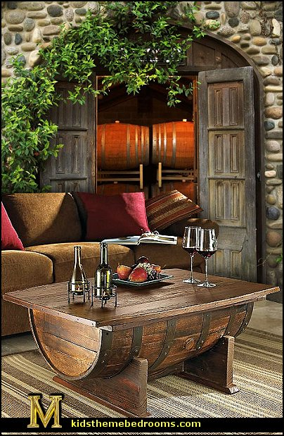 Decorating theme bedrooms maries manor rustic Tuscan style coffee table