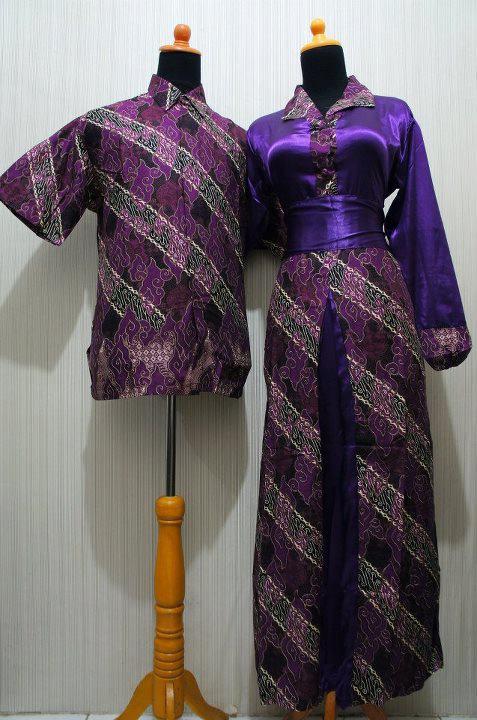 Baju Grosir Jogja Sarimbit Batik Krah Formal Sbkf Ungu