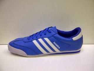 sepatu Adidas Samba Biru