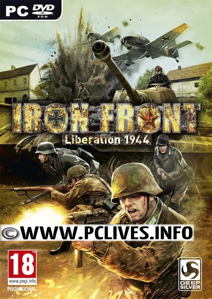 Iron Front Liberation 1944 pc game cover download