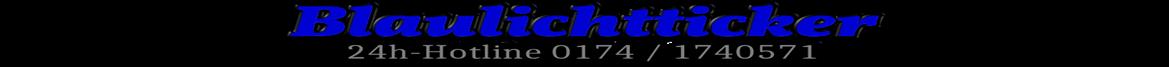Blaulichtticker Allgäu