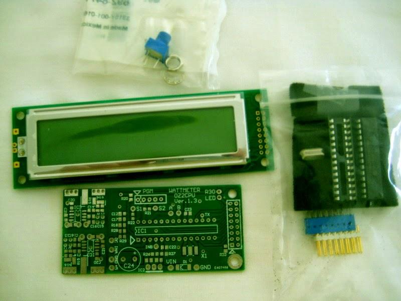 Digital Rf Power Meters : Ghz digital rf milli wattmeter zs ii ve ek amateur