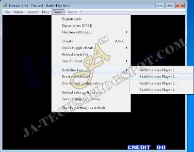 Change Default Keys with Joypad / Joystick for Player 1