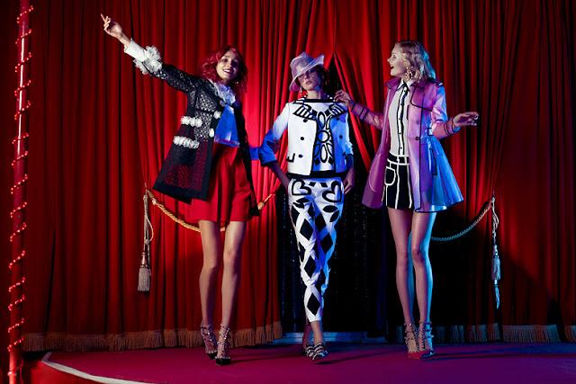 Theatrical LuisaViaRoma.com Photo Shoot
