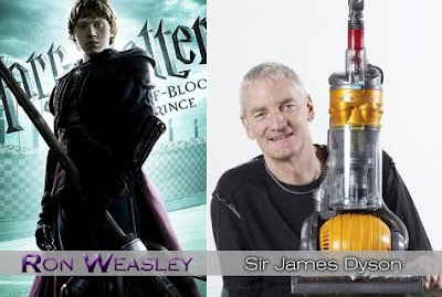 ron weasley è sir james dyson